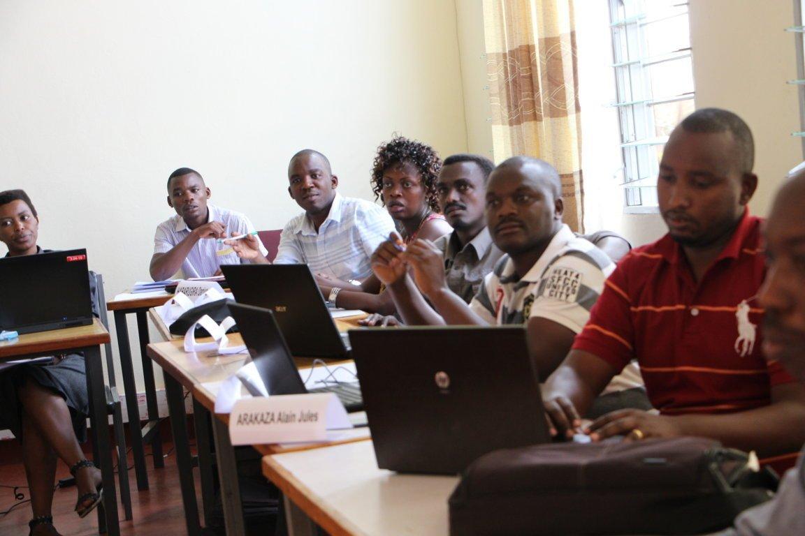 Etudiants en master de la santé publique